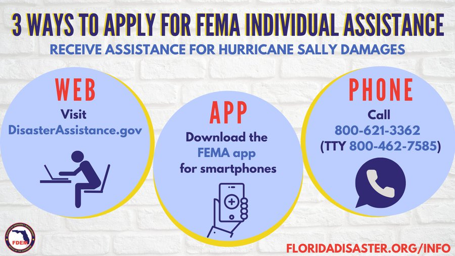 FEMA individual Assistance Information
