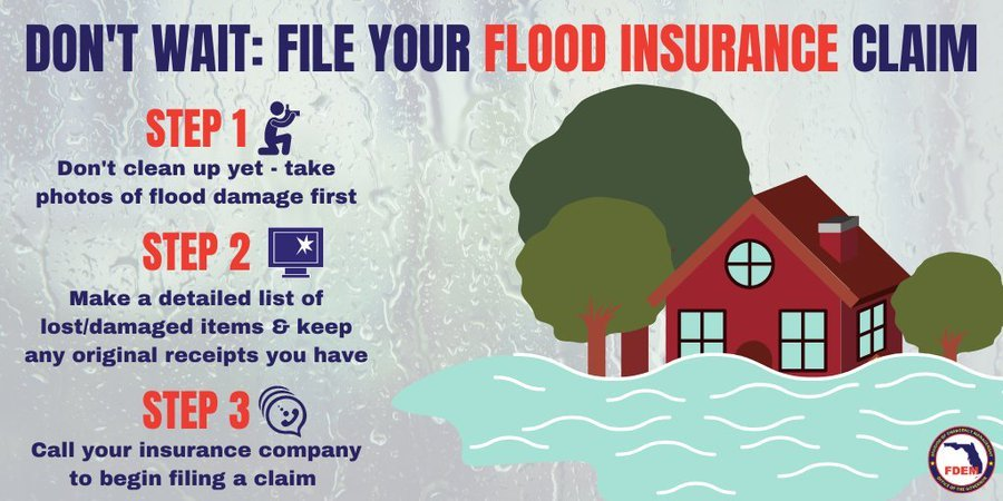 Steps for Flood Insurance Claims